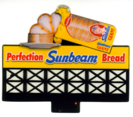 Reclamebord 44-3302   Sunbeam Bread HO