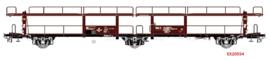 EX 20554 autotransportwagen NS LACS Van Doorne HO