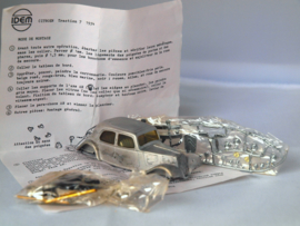IDEM Citroen Traction 7, witmetalen kit  1:43