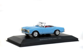 SO4304600 MB 230 SL Cabrio, blauw 1:43