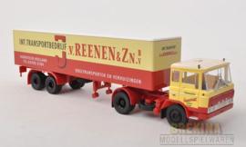 BRE 85265 DAF FT 2600 Koffer-SZ van Reenen 1:87
