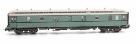 20 296.01 Postwagen P 7017, turquoise, creme dak IIIa
