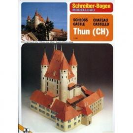Bouwplaat SB 72396   Burcht Thun