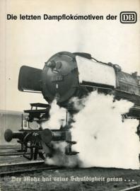 Die letzten Dampflokomotiven der DB