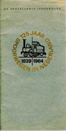 125 jaar Spoorwegen in Nederland Concert programmaboekje