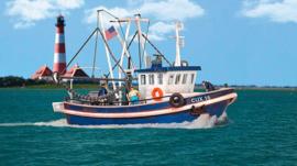 WA 531016 Vissersboot CUX 16 HO