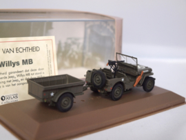 ATLAS Jeep Willys MB 1:43
