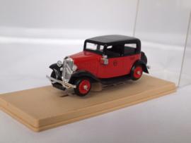 Eligor Citroen Rosalie Taxi rood/zwart 1:43