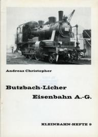 Butzbach-Licher Eisenbahn A.G. Kleinbahn-Hefte 9