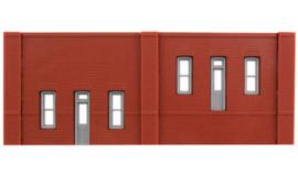 DPM 60104 set van 3 muurdelen met ramen en 10 pilasters