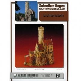 Bouwplaat SB 71349   Slot Lichtenstein
