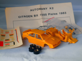 AUTOMANY K2 Citroen BX, resin kit  1:43