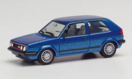 H430838 VW Golf II GTI blauw 1:87