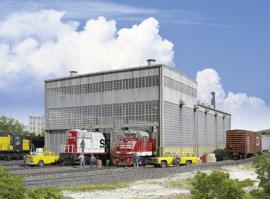 WA 532916 Diesellocomotievenloods HO