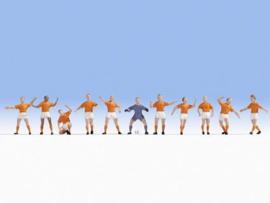 15977 Set voetballers van Oranje NL 1:87