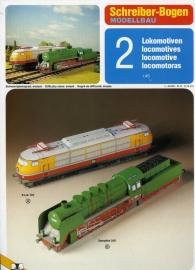 Bouwplaat SB 72063   Set 2 locomotieven