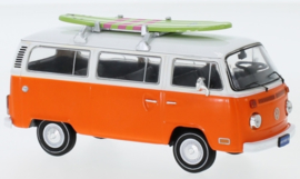 IXO 222647 VW T2 Bus met surfplank 1:43