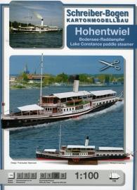 Bouwplaat SB 730   Raderboot