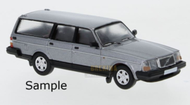 PCX 87 0011 Volvo 240 QL zilver 1:87