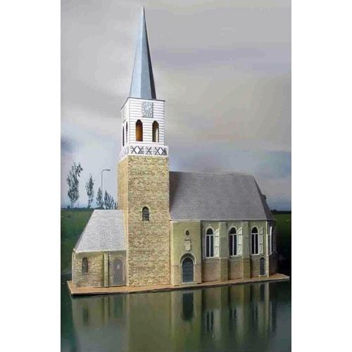 bouwplaat N 500 Kerk