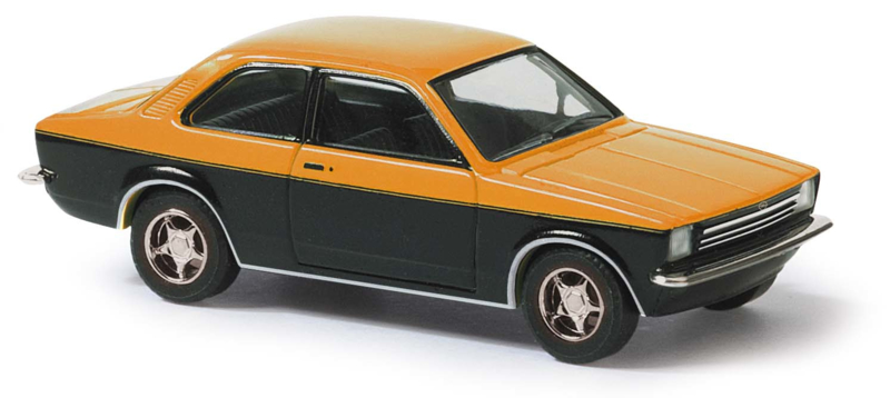 BA 42110 Opel Kadett C 2-kleurig oranje 1:87
