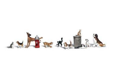 WLS A2725 Honden en katten 1:43