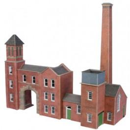 PO 284 Fabriekspoort en ketelhuis OO/HO