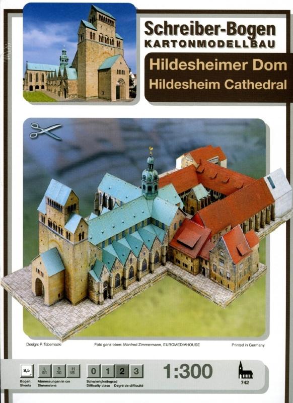 Bouwplaat SB 742 Dom van Hildesheim