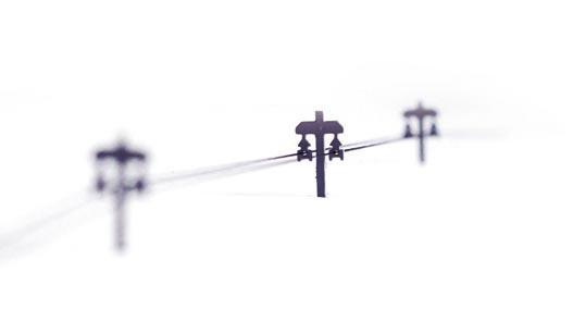 10 301 Kabelgeleiders HO 1:87 kit