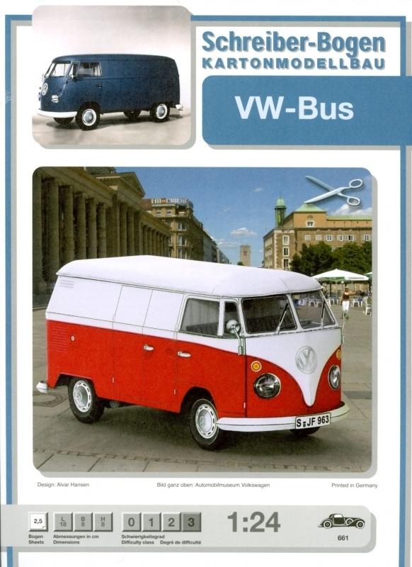 Bouwplaat SB 661   VW bus