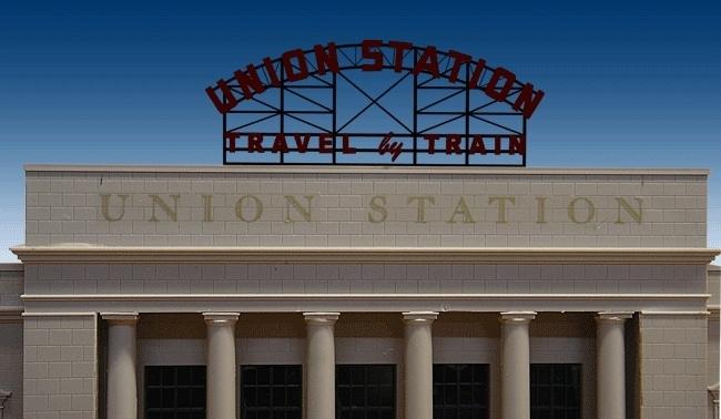 Reclamebord 3882   Union Station HO