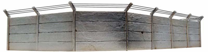10 185 Betonmuren set HO 1:87