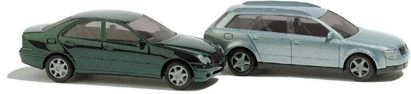 BA 8346 Audi/Mercedes 1:160