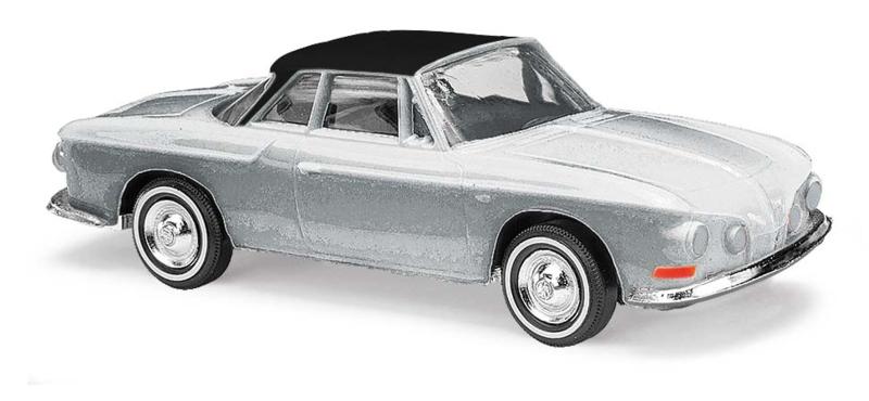 BA 45815 Karmann Ghia 1600 zilver 1:87