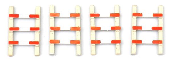 387 56 Overweg hekken (4 stuks) HO 1:87