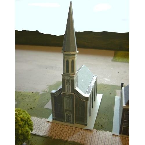 bouwplaat N 501   Kerk