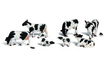 WLS A2724 Holsteiner koeien zwartbont 1:43