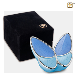 K1041 Mini LoveUrns Butterfly Urn Blauw (0.05 liter)