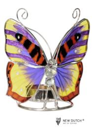 vlinder waxinelichthouder art.246