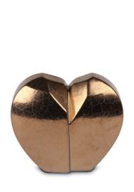 urn hartvorm goud, 1L