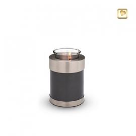 Messing urn zilver CHK 109 Z