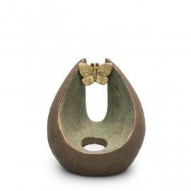 Geert Kunen urn, UGK 037, verlichte vlinder
