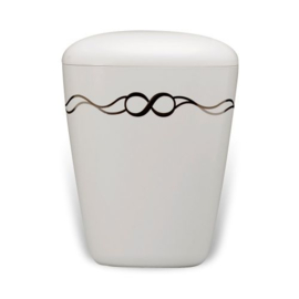 Bio urn 'Infinity' 27,2 cm ø21 cm 5,2 liter