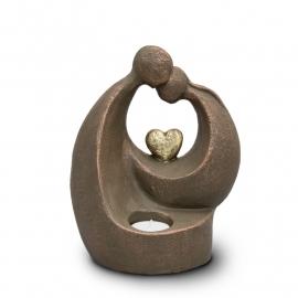 Geert Kunen urn UGK 045, verlicht troost