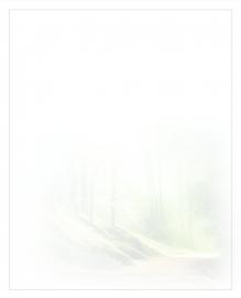 Bospad - dankbetuigingkaart
