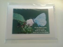 Treast gedicht 7, Als een vlinder...