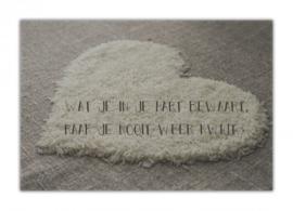 Wat je in je hart bewaart...  - Zuiver Collectie