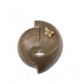 Geert Kunen urn UGK048, vrij zijn, vlinder