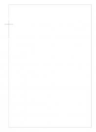 Zilveren kruis in kader - dankbetuigingkaart