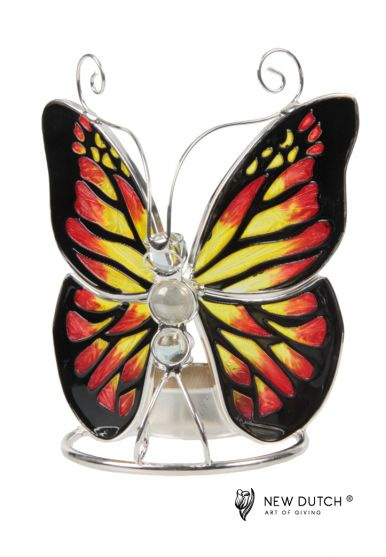 vlinder waxinelichthouder art.242